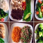 Меню на неделю, рецепты обеда ПП для худеющих, из овощей, мяса
